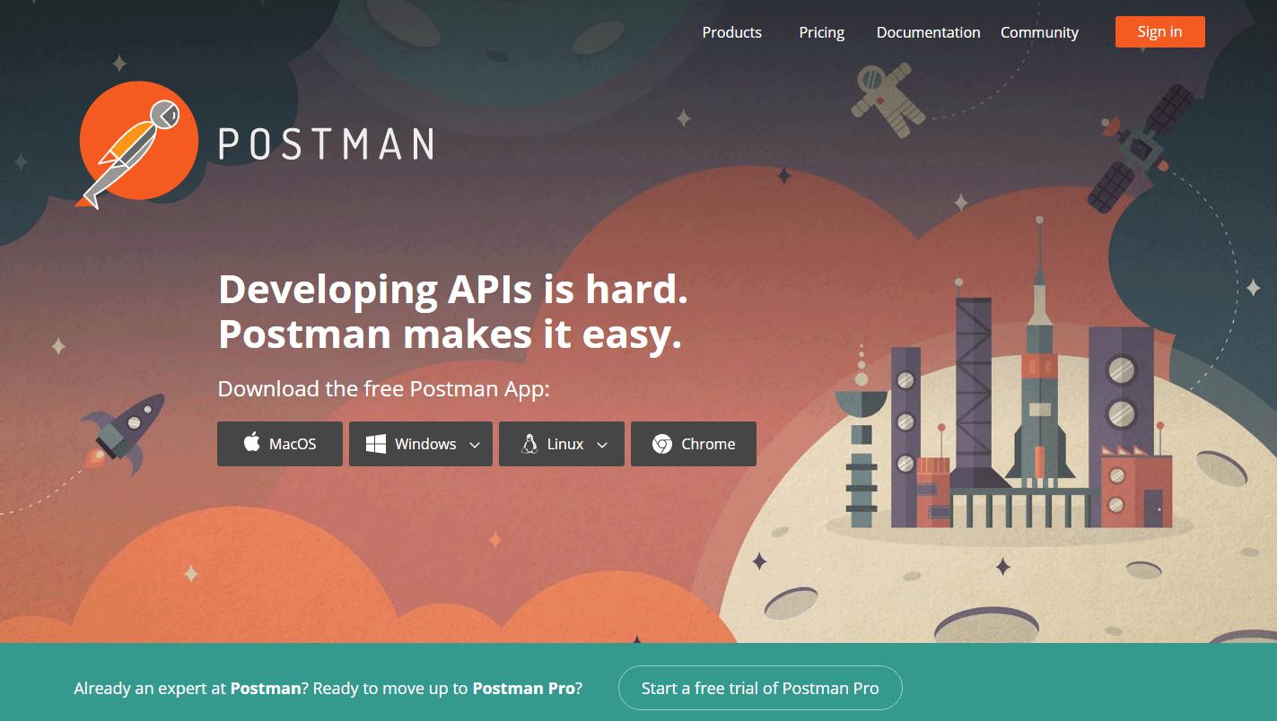 Postman - 9 Ferramentas de Produtividade Gratuitas que Todo Desenvolvedor Web Deveria Usar