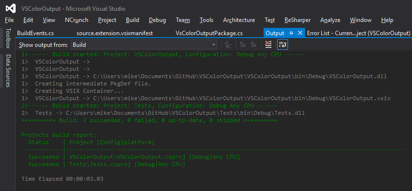 VS Color Output - 9 Ferramentas de Produtividade Gratuitas que Todo Desenvolvedor Web Deveria Usar