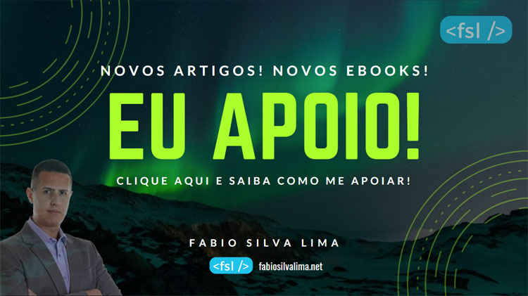 Eu apoio Fabio Silva Lima