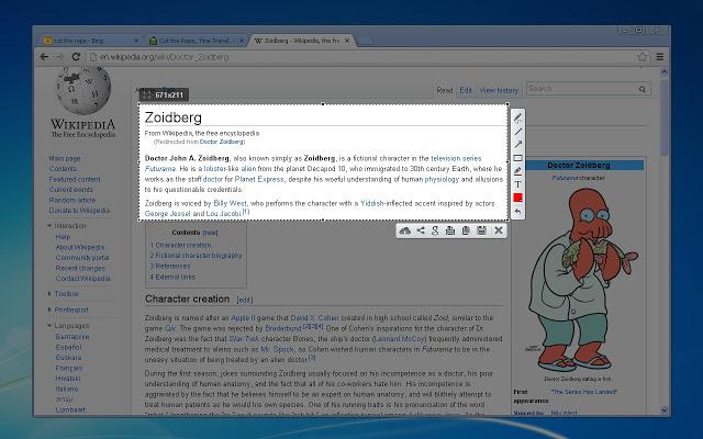 Lightshot - 12 Chrome Extensions para Desenvolvedores Web