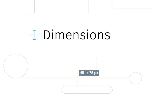 Dimensions- 12 Chrome Extensions para Desenvolvedores Web